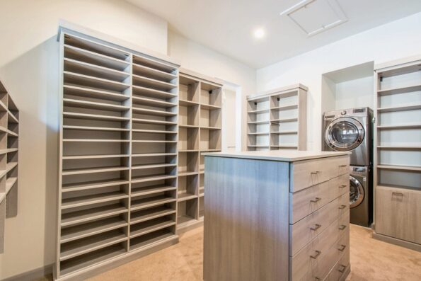 Closet space with